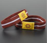 Elastic Fabric Wristbands