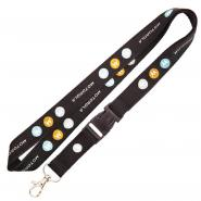 Polyester Lanyard With Woven Lanyard