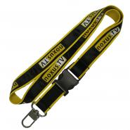 Polyester Lanyard With Silk Screen Printing Satin Lanyard