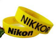 Embossed Printed(Raised Letter Color) Silicone Wristband