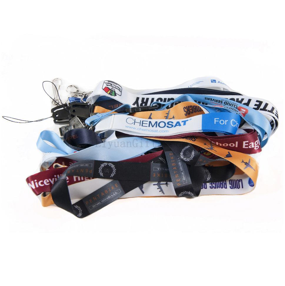 Smooth Polyester Lanyards